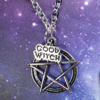 Good Witch Pentacle necklace