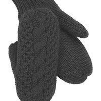 The North Face Women's Cable Knit Mittens,