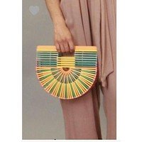 Bamboo Arc Handbag