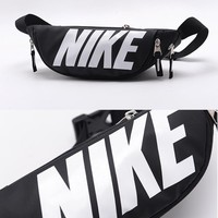 """Nike"" Unisex Sport Casual Letter Logo Couple Chest Bag Waist Bag Single Shoulder Messenger Bag Small Backpack"