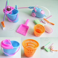 Home Furniture Cleaner Furnishing Kit For Doll House Cleaning