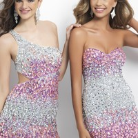 Short and Sexy little prom dresses by Blush Prom Short Prom Style C130