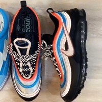 Nike Air Max 97 Neon Seoul Women Men Casual Sport Running Sneaker Shoes