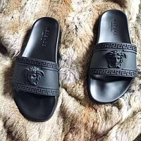 Versace Fashion Solid Color Slippers Sandals Shoes