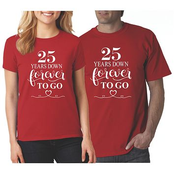 Wedding Anniversary Shirts for Couples | Our T Shirt Shack