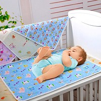 Cotton Waterproof born Infant Bedding Nappy Changing Cover Pad Portable Cute Baby Nappy Cover Pad Diapers Changing Mattress