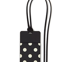 Kate Spade Who Me? Id Holder Black Dots ONE