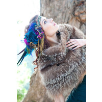 The Joanna Headdress Custom Made Luxe by TheHouseOfKatSwank
