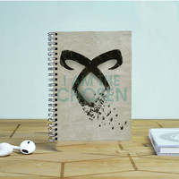 The Mortal Instrument Logo Photo Notebook Auroid