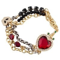 Disney Villains Crystal Evil Queen's Heart Box Snow White Bracelet by Disney Couture   Jewelry   Disney Store