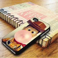 Disney Toy Story Woody Bubble Gum   For iPhone 5C Cases   Free Shipping   AH1171