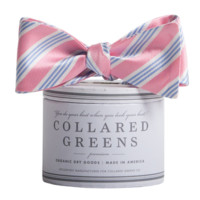 Homestead PInk Blue Bow Tie American Made