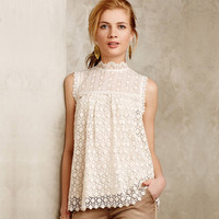 Women new fashion t shirt bohemian lace tops stand collar hollow out crotch casual full lace t-shirts  ZT1047