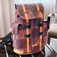 LV Fashion New Monogram Print Leather Handbag Shoulder Bag Backpack Bag