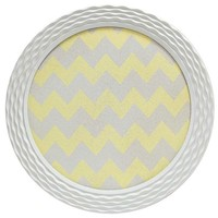 Gray & Yellow Round Chevron Wall Decor | Shop Hobby Lobby