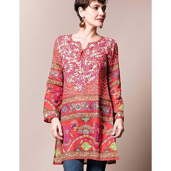 Kiara Tunic - Red - As-Is-Clearance - Large Only