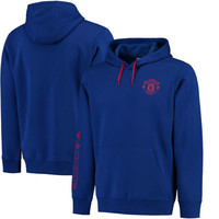 Manchester United adidas Core Hoodie - Royal