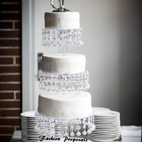 Sale Bling Cupcake Tower 4 tiers. Cupcake stand. Crystal cupcake stand. Wedding cupcake stand. Crystal cake stand. Cake stand tower