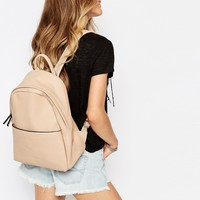 Glamorous Minimal Backpack in Taupe
