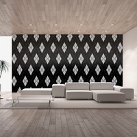 Black and Gray Argyle