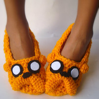 Adventure time Jake the Dog home slippers Women size 5 to 10.5
