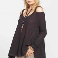 Women's Free People 'Moonshine V' Cold Shoulder Sweater,