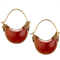 Cypriot Carnelian Earrings