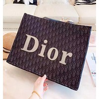 DIOR New fashion more letter leather shoulder bag handbag women