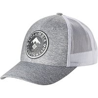 Columbia Men's Mesh Snap Back Hat, Columbia Grey Heather/Felt Patch, One Size