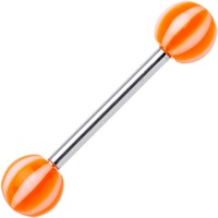 Bermuda BEACH BALL Barbell Tongue Ring