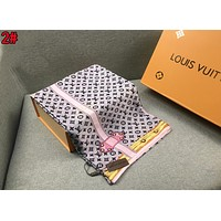 LV Silk Scarf Louis Vuitton Women Silk Kerchief Cape Scarf Scarves 2#
