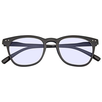 Blue Light Blocking Reading Glasses for Computer Use Women Men UV Filter Eyewear Square Eyeglasses Frame Anti Eye Strain Headache