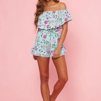 Pretty Little Flowers Romper