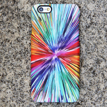 Abstract Color Painting iPhone 6 iPhone 6 plus Case Blue iPhone 5S 5iPhone 5CiPhone Case Samsung Galaxy S6 edge S6 S5 S4 Note 3 Case 045