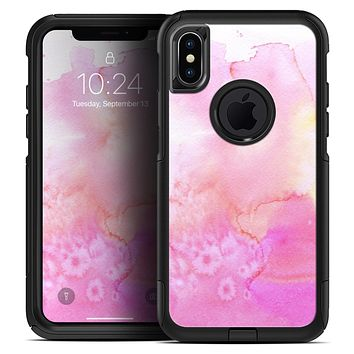 Subtle Pink 2 Absorbed Watercolor Texture - Skin Kit for the iPhone OtterBox Cases