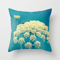 Lace Throw Pillow by Olivia Joy StClaire