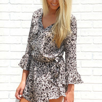 The Main Attraction Leopard Romper