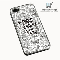 Pierce The Veil Song Lyric For iPhone 4 iPhone 4S Case