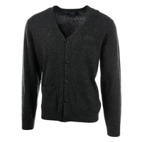 Grayers Mens Wool Knit Cardigan Sweater