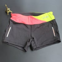 woman fitness sports training shorts dry tights female stretch running short pants sexy mini slim gym sweatpants workout clothes