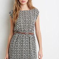 Daisy Cap-Sleeved Dress