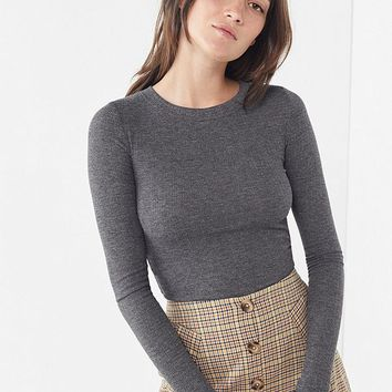 Out From Under Karmen Pointelle Top | Urban Outfitters