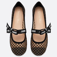 Dior  MISS J'ADIOR TECHNICAL CANVAS BALLET PUMP