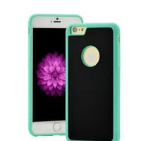 Mint Anti-Gravity Selfie Phone Case for Iphone 5/5s/6/6s and Samsung Galaxy S6 Edge with Nano Sticky