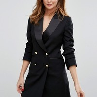 Millie Mackintosh Cecille Tuxedo Dress at asos.com