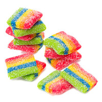 AirHeads Xtremes Bites Candy Packs - Rainbow Berry: 12-Piece Box