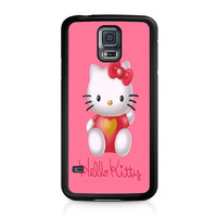 Hello Kity Love Suit Samsung Galaxy S5 Case