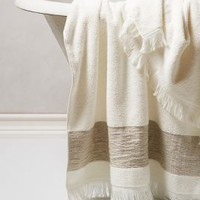 Linen-Edged Towel Collection by Anthropologie