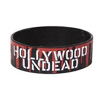 Hollywood Undead Party Rubber Bracelet - 396006