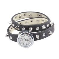Retro Spiked Stud Wrapped Watch